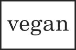 Vegan Logo Badge